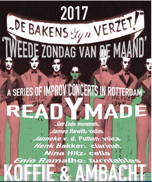 poster readymade 14 mei